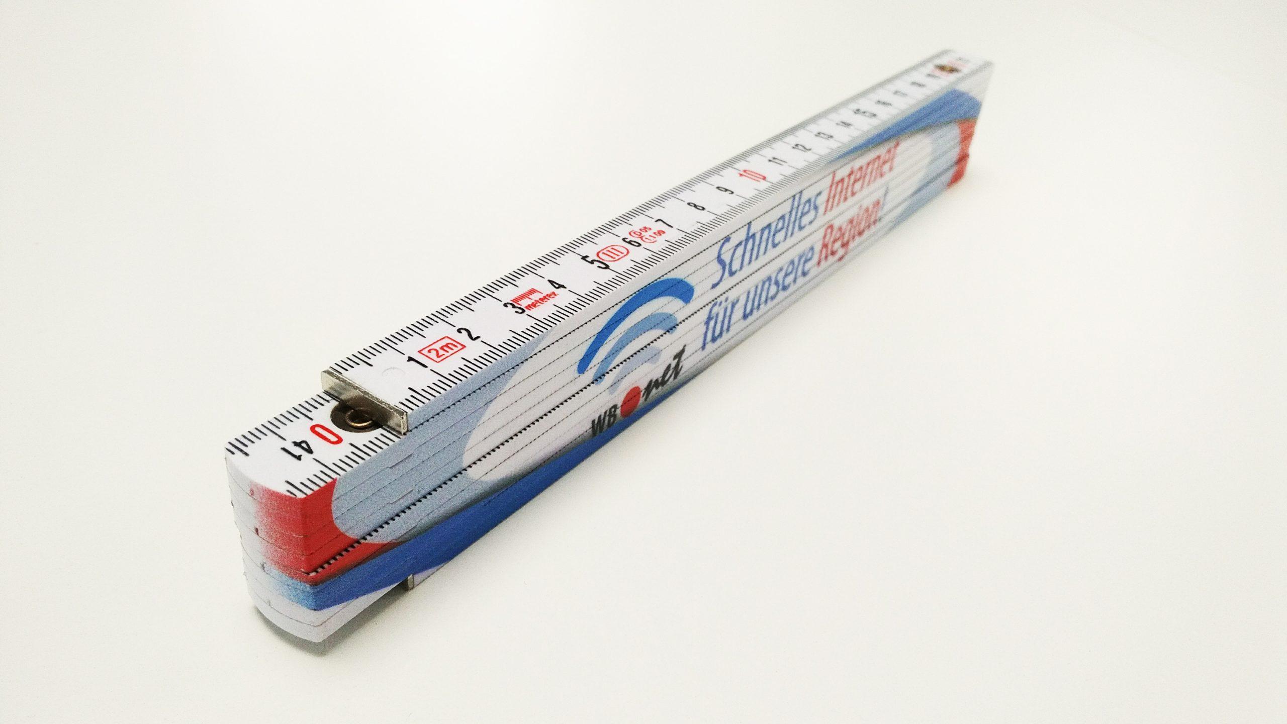 Kunststoff Meterstab