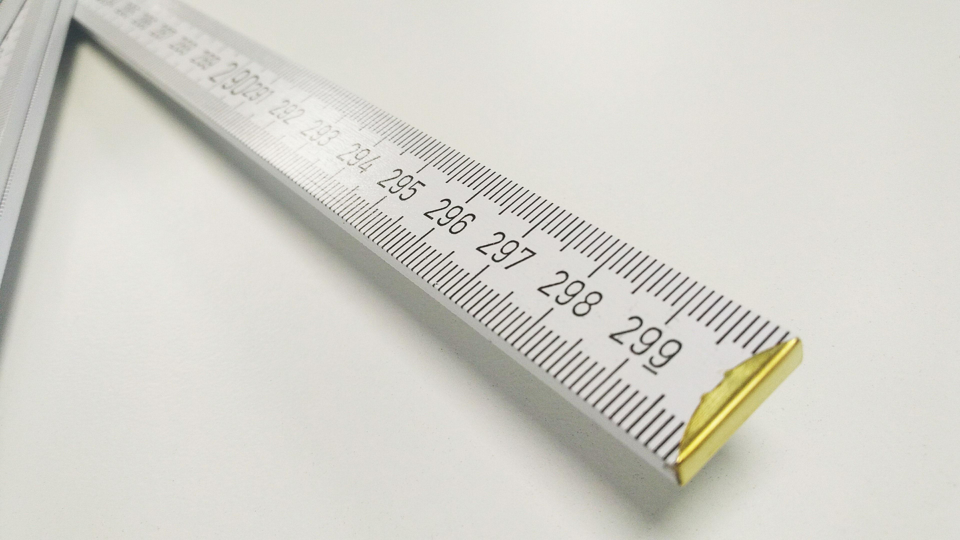 3-Meter Zollstock Skala