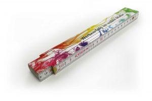 Premium-Zollstock neutrale Abbildung flach