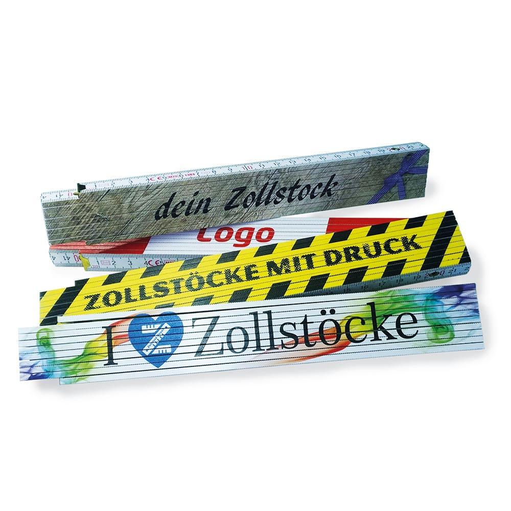 Premium-Zollstock bedruckt neu