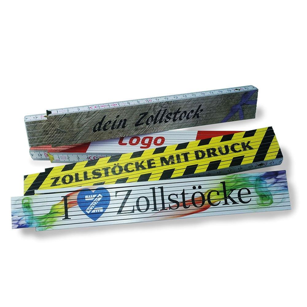 Premium-Zollstock bedruckt